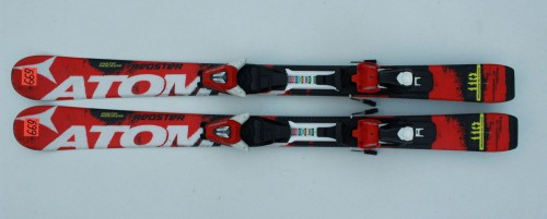 ATOMIC-REDSTER-PISTE-ROCKER-110-CM-ATOMIC-XTE-2013-JUNIOR-JR-SKI-SKIS-N669-221651275671