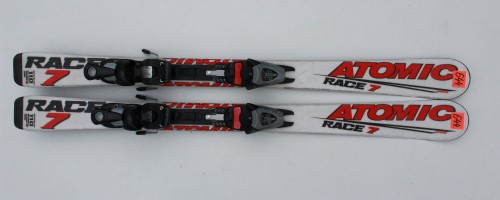 ATOMIC-RACE-7-110-CM-SALOMON-T25-JUNIOR-JR-CHILD-SKI-SKIS-N644-221651274756