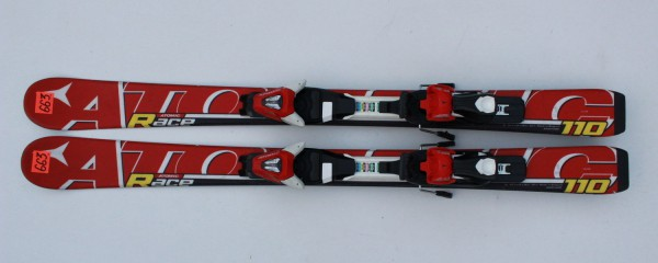 ATOMIC-RACE-110-CM-ATOMIC-XTE-7-JUNIOR-JR-CHILD-SKI-SKIS-N663-221651274627
